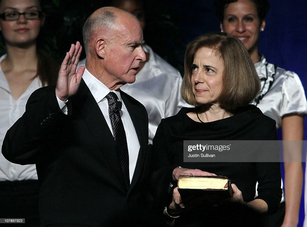 Jerry Brown Swore In As Governor Of California