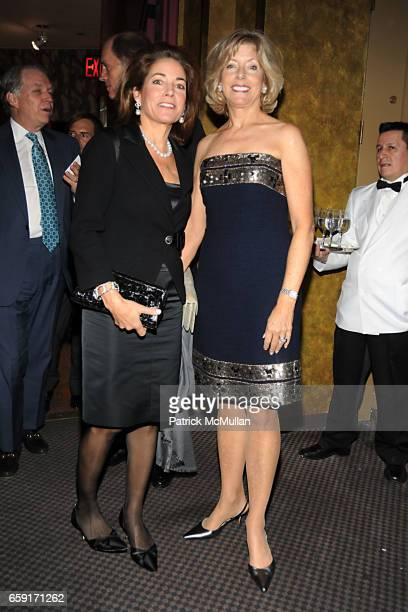 Anne Harrison and Liz Peek attend THE NEW YORK BOTANICAL GARDEN Orchid Dinner at Rainbow Room on February 24 2009 in New York City