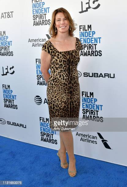 Anne Harrison attends the 2019 Film Independent Spirit Awards on February 23 2019 in Santa Monica California