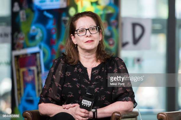 """Anne Harrison visits Build Series to discuss """"Leave No Trace"""" at Build Studio on June 26, 2018 in New York City."""
