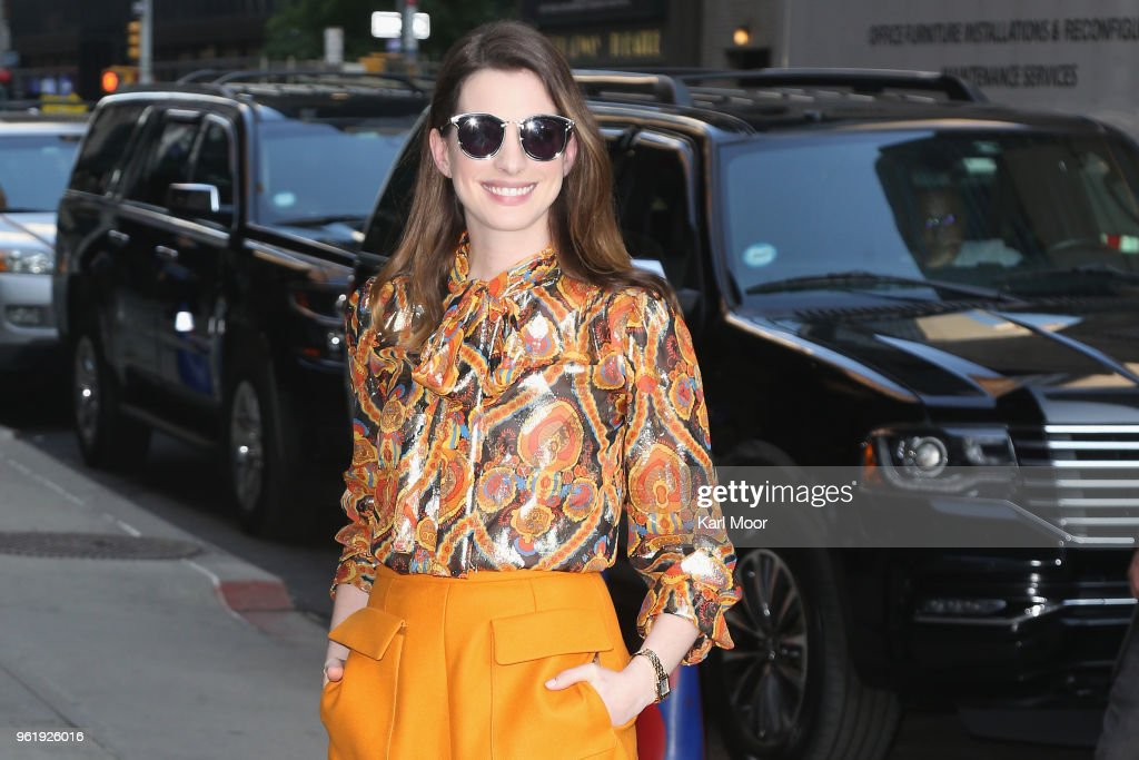 """Celebrities Visit """"The Late Show With Stephen Colbert"""" - May 23, 2018 : News Photo"""