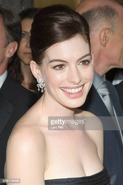 Anne Hathaway attends the '63rd Annual Tony Awards' at Radio City Music Hall in New York City