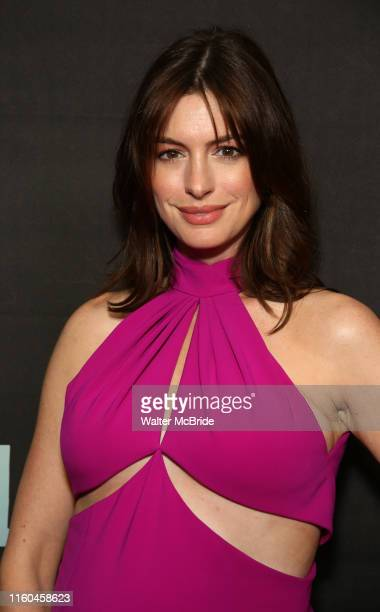Anne Hathaway attends the Broadway Opening Night performance of Sea Wall / A Life at the Hudson Theatre on August 08 2019 in New York City
