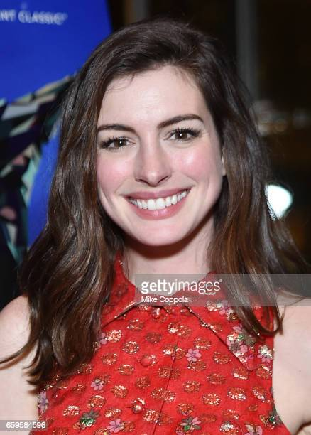 Anne Hathaway attends the 'Colossal' after party on March 28 2017 in New York City
