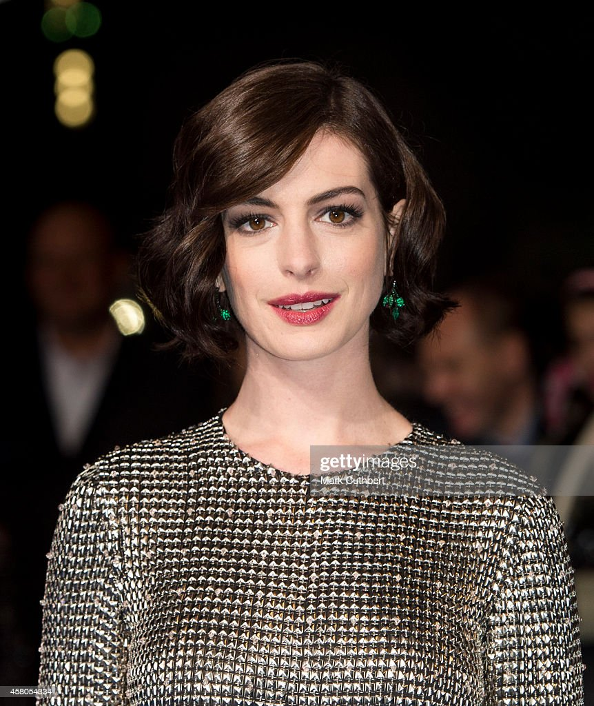 Anne Hathaway At The Hustle Premiere In Hollywood: Anne Hathaway Attends The European Premiere Of