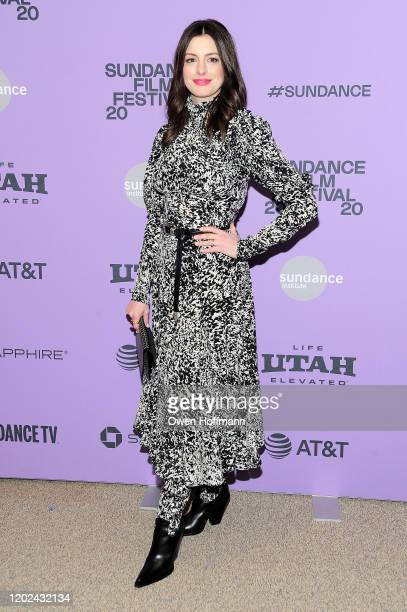 Anne Hathaway attends the Netflix The Last Thing He Wanted Premiere at Eccles Center Theatre on January 27 2020 in Park City Utah
