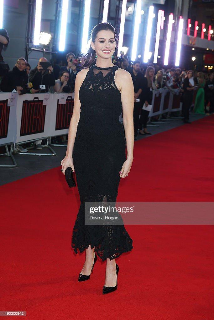"""The Intern"" - UK Film Premiere - VIP Arrivals"