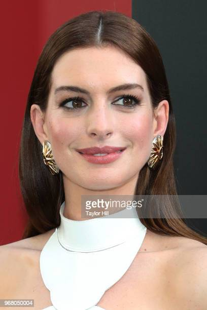 Anne Hathaway attends the world premiere of 'Ocean's 8' at Alice Tully Hall at Lincoln Center on June 5 2018 in New York City