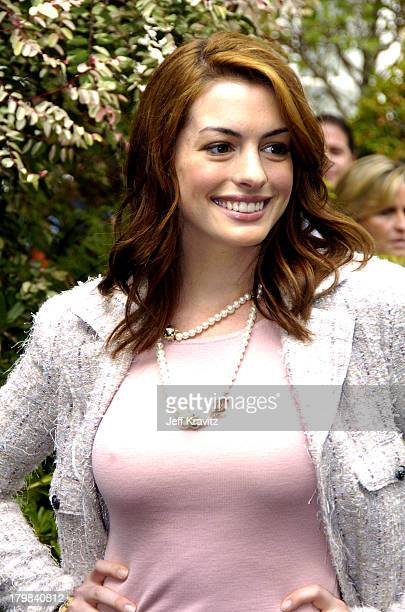 Anne Hathaway during 11th Annual Premiere Women In Hollywood Lunch at Four Seasons in Beverly Hills California United States