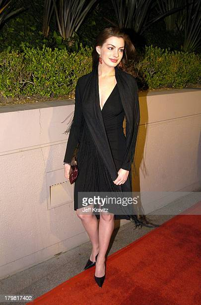 Anne Hathaway during 2004 Miramax Awards PreOscar Party at St Regis Hotel in Century City California United States