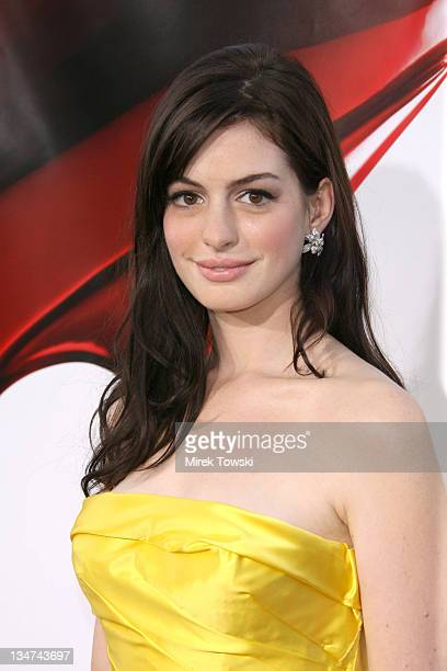 Anne Hathaway during Film Independent's Los Angeles Film Festival Opening Night 'The Devil Wears Prada' at Mann Village Theatre in Westwood...