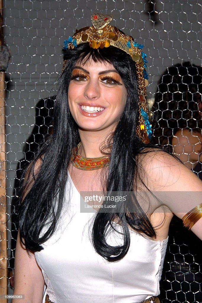 Anne Hathaway during Heidi Klum's Halloween Party at Marquee in New York City, New York, United States.