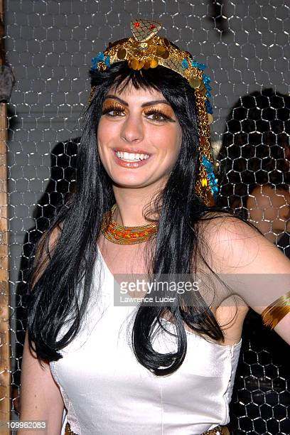 Anne Hathaway during Heidi Klum's Halloween Party at Marquee in New York City New York United States