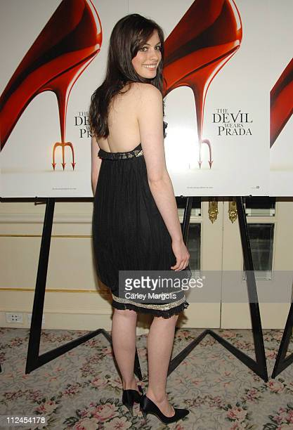 """Anne Hathaway during """"The Devil Wears Prada"""" - A Dinner and Private Auction Hosted by the St. Regis Hotel - May 23, 2006 at St. Regis Hotel in New..."""