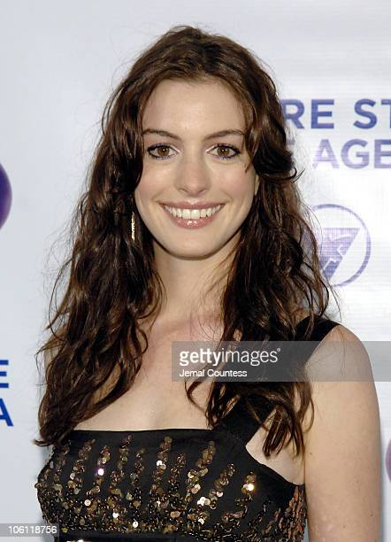 Anne Hathaway during The Empire State Pride Agenda's 15th Annual Fall Dinner Arrivals at The Sheraton in New York City New York United States