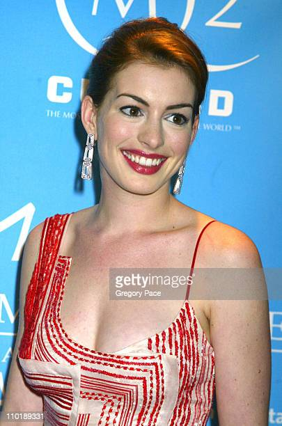 Anne Hathaway during The Entertainment Industry Foundation's 2nd Hollywood Hits Broadway Benefit Gala for Colon Cancer Arrivals at Queen Mary 2 in...