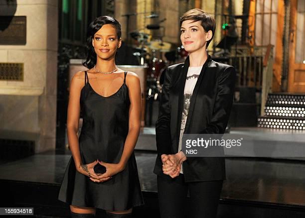 LIVE 'Anne Hathaway' Episode 1627 Pictured Rihanna Anne Hathaway