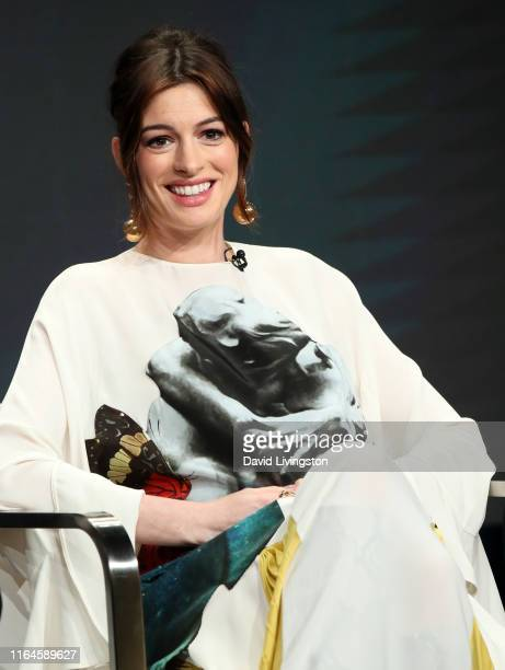 Anne Hathaway of 'Modern Love' speaks onstage during the Amazon Prime Video segment of the Summer 2019 Television Critics Association Press Tour at...