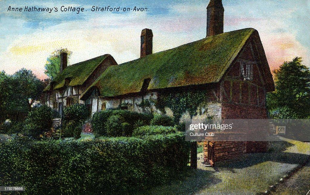 Anne Hathaway 's cottage : News Photo