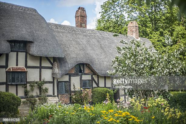 Anne Hathaway's cottage in Stratford upon Avon