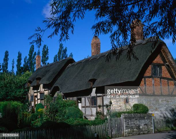 Anne Hathaway's Cottage William Shakespeare's wife Shottery StratforduponAvon England United Kingdom