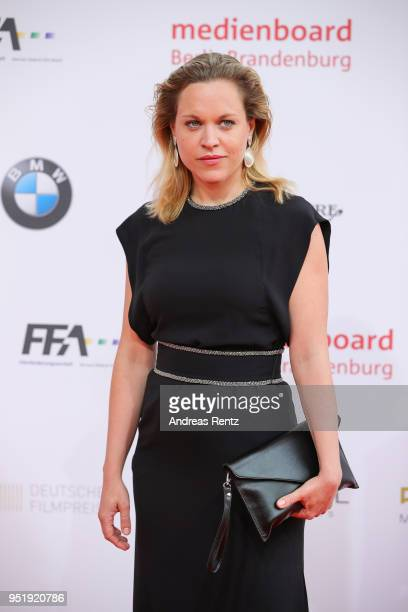 Anne Haug attends the Lola German Film Award red carpet at Messe Berlin on April 27 2018 in Berlin Germany