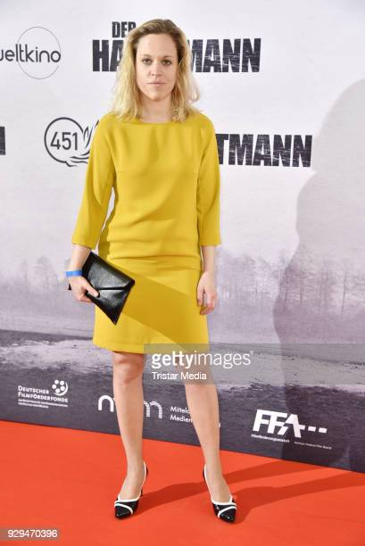 Anne Haug attends the premiere of 'Der Hauptmann' at Kino International on March 8 2018 in Berlin Germany