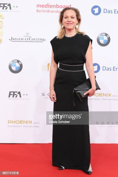 Anne Haug during the Lola German Film Award red carpet at Messe Berlin on April 27 2018 in Berlin Germany