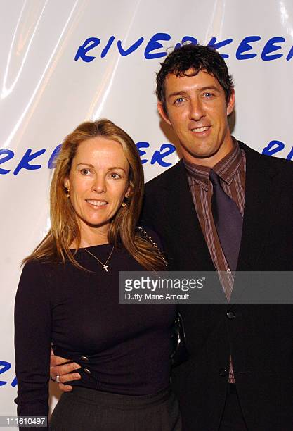 Anne Hearst and Alex Matthiessen during Robert F Kennedy Jr Hosts 2nd Benefit Photo Auction for Riverkeeper at Boylan Studios in New York City New...