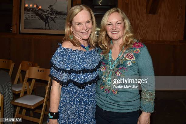 Anne Hearst McInerney and Patricia Hearst Shaw attend Hearst Castle Preservation Foundation - Patron Cowboy Cookout at Hearst Ranch on September 29,...