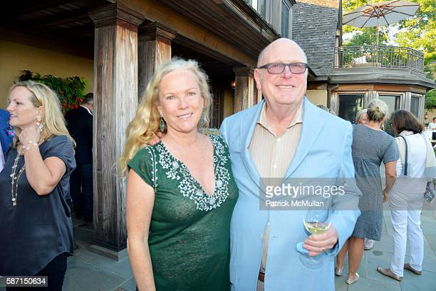 Anne Hearst McInerney and Tom Tuft attend Tom Diane Tuft and Christina Cuomo Celebrate the Launch of Jay McInerney's New Novel Bright Precious Days...