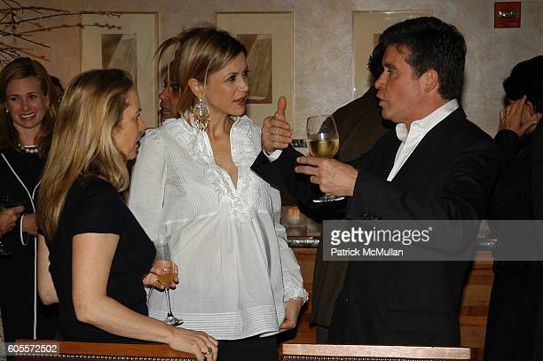 Anne Hearst Sasha Lazard and Jay McInerney attend Jay McInerney celebrates The Good Life at Eleven Madison Park NYC on May 10 2006 in New York City