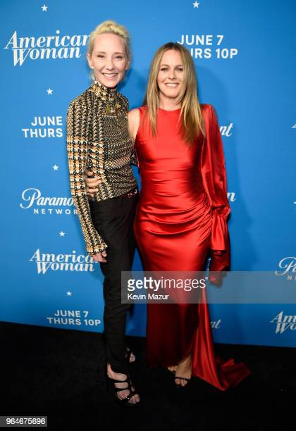 Anne Heche and Alicia Silverstone attend the American Woman premiere party at Chateau Marmont on May 31 2018 in Los Angeles California