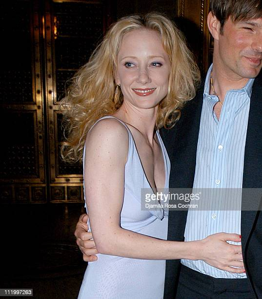 Anne Heche and Coley Laffoon during 1st Annual Show People Tony Awards Party at Gotham Hall in New York City New York United States