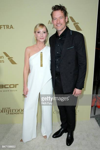 Anne Heche and James Tupper attend The Hollywood Reporter and SAGAFTRA Inaugural Emmy Nominees Night presented by American Airlines Breguet and Dacor...