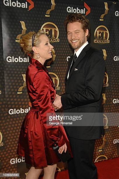 """Anne Heche and James Tupper from """"Men in Trees"""" attend The 22nd Annual Gemini Awards at the Conexus Arts Centre on October 28, 2007 in Regina, Canada."""