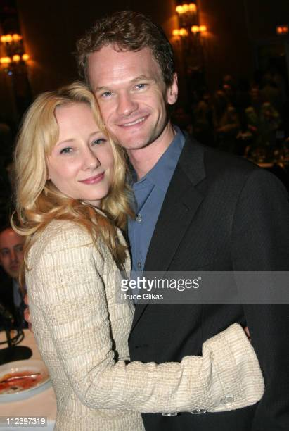 Anne Heche and Neil Patrick Harris during Hugh Jackman is Given The Drama League 2004 Distinguished Performance of the Year Award for 'The Boy From...