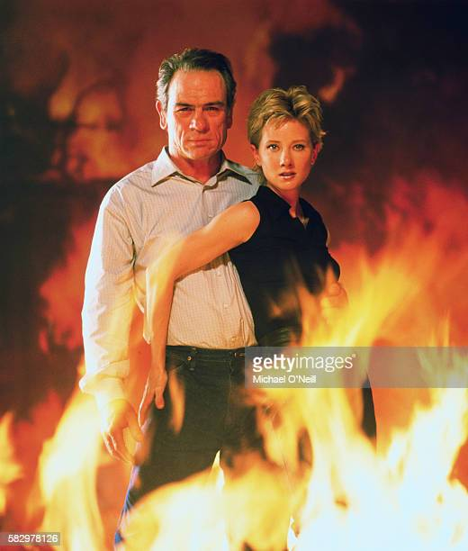 Anne Heche and Tommy Lee Jones starred in the film Volcano