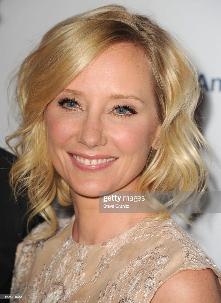 Anne Heche arrives at the 20th Annual Race To Erase MS Gala 'Love To Erase MS' at the Hyatt Regency Century Plaza on May 3, 2013 in Century City, California.