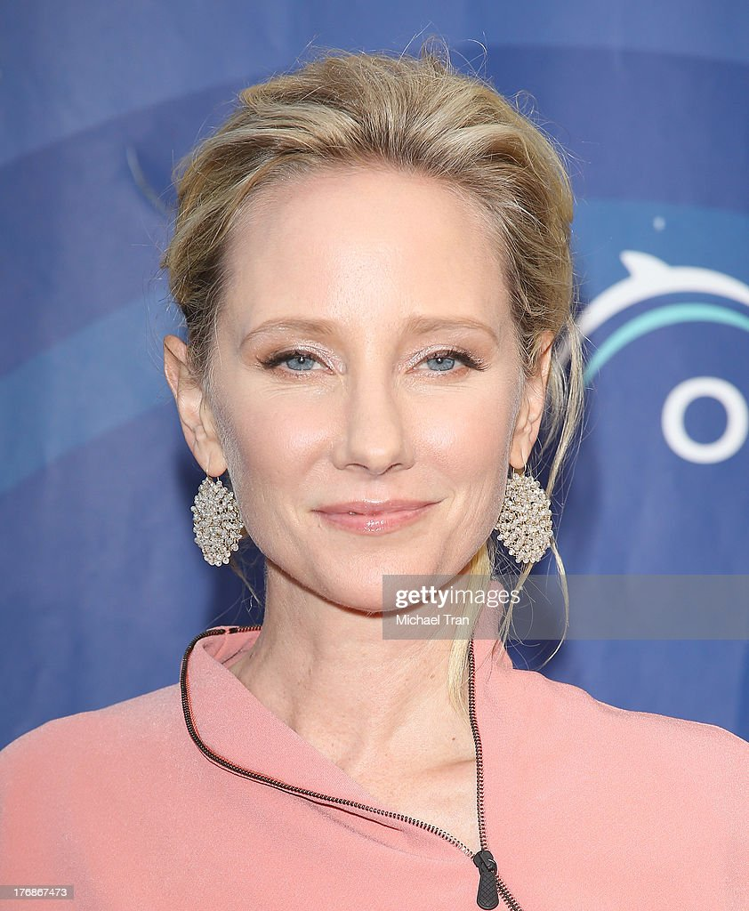 Anne Heche arrives at the 6th Annual Oceana's Annual SeaChange Summer Party held at a private residence on August 18, 2013 in Laguna Beach, California.