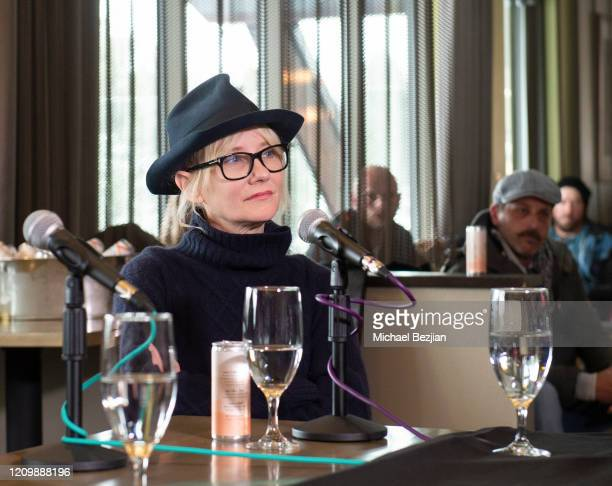 Anne Heche at 3rd Annual Mammoth Film Festival Red Carpet - Sunday on March 01, 2020 in Mammoth Lakes, California.