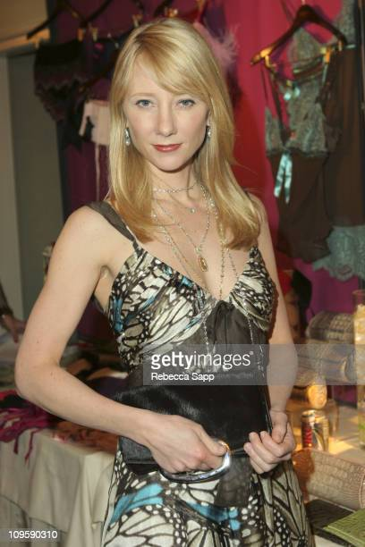 Anne Heche at Jalda during HBO Luxury Lounge Day Two at Peninsula Hotel in Beverly Hills California United States