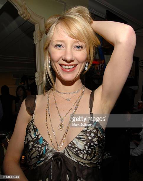 Anne Heche at Sol Rafael Dream Jewels during HBO Luxury Lounge Day Two at Peninsula Hotel in Beverly Hills California United States