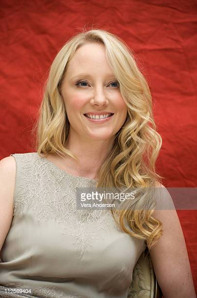 Anne Heche at the Hung press conference at the Four Seasons Hotel on August 25 2009 in Beverly Hills California