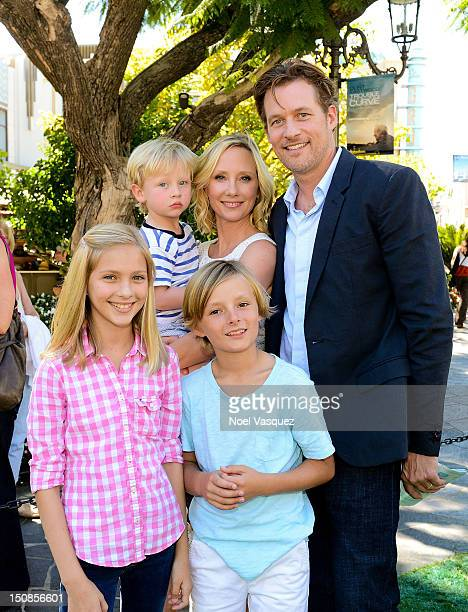 Anne Heche Atlas Heche Tupper James Tupper and Homer Laffoon are sighted on August 27 2012 in Los Angeles California