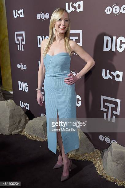 Anne Heche attends Dig Series New York Premiere at Capitale on February 25 2015 in New York City
