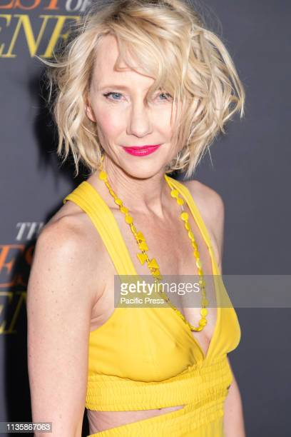 Anne Heche attends 'The Best Of Enemies' New York Premiere at AMC Loews Lincoln Square Manhattan