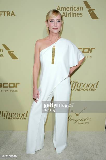 Anne Heche attends The Hollywood Reporter and SAGAFTRA Inaugural Emmy Nominees Night presented by American Airlines Breguet and Dacor at the Waldorf...
