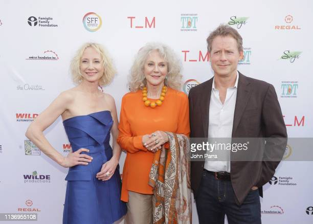 Anne Heche Blythe Danner and Greg Kinnear attend the 2019 Sarasota Film Festival on April 13 2019 in Sarasota Florida