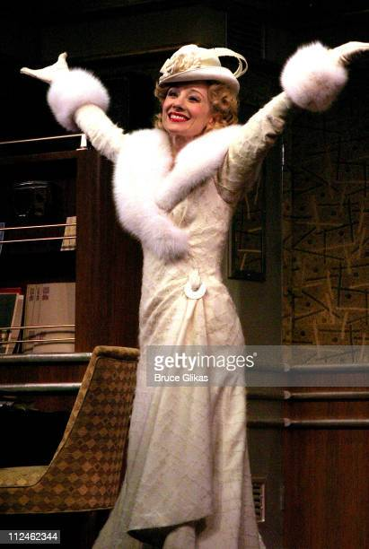 Anne Heche Curtain Call during Opening Night of Twentieth Century on Broadway at The American Airlines Theater/ The China Club in New York NY United...